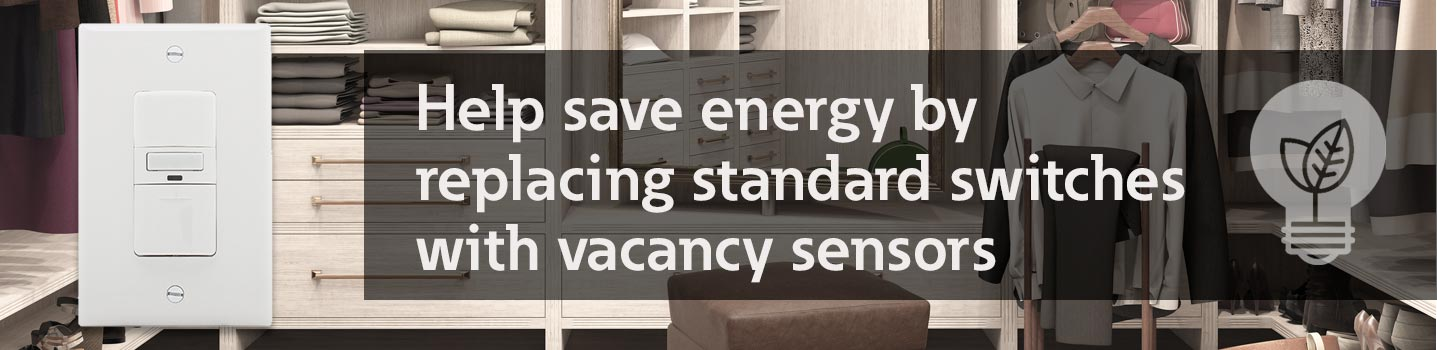 Energy Saving vacancy sensors